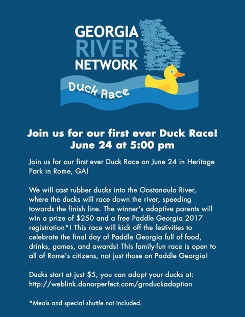 Duck Race Flyer 2