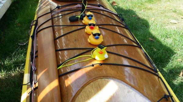 ducks on kayak size