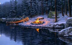 river-snow